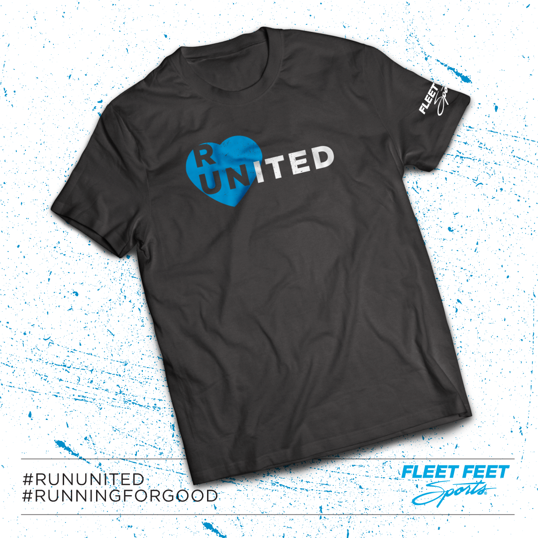 RUN UNITED TEE FLEET FEET SPORTS