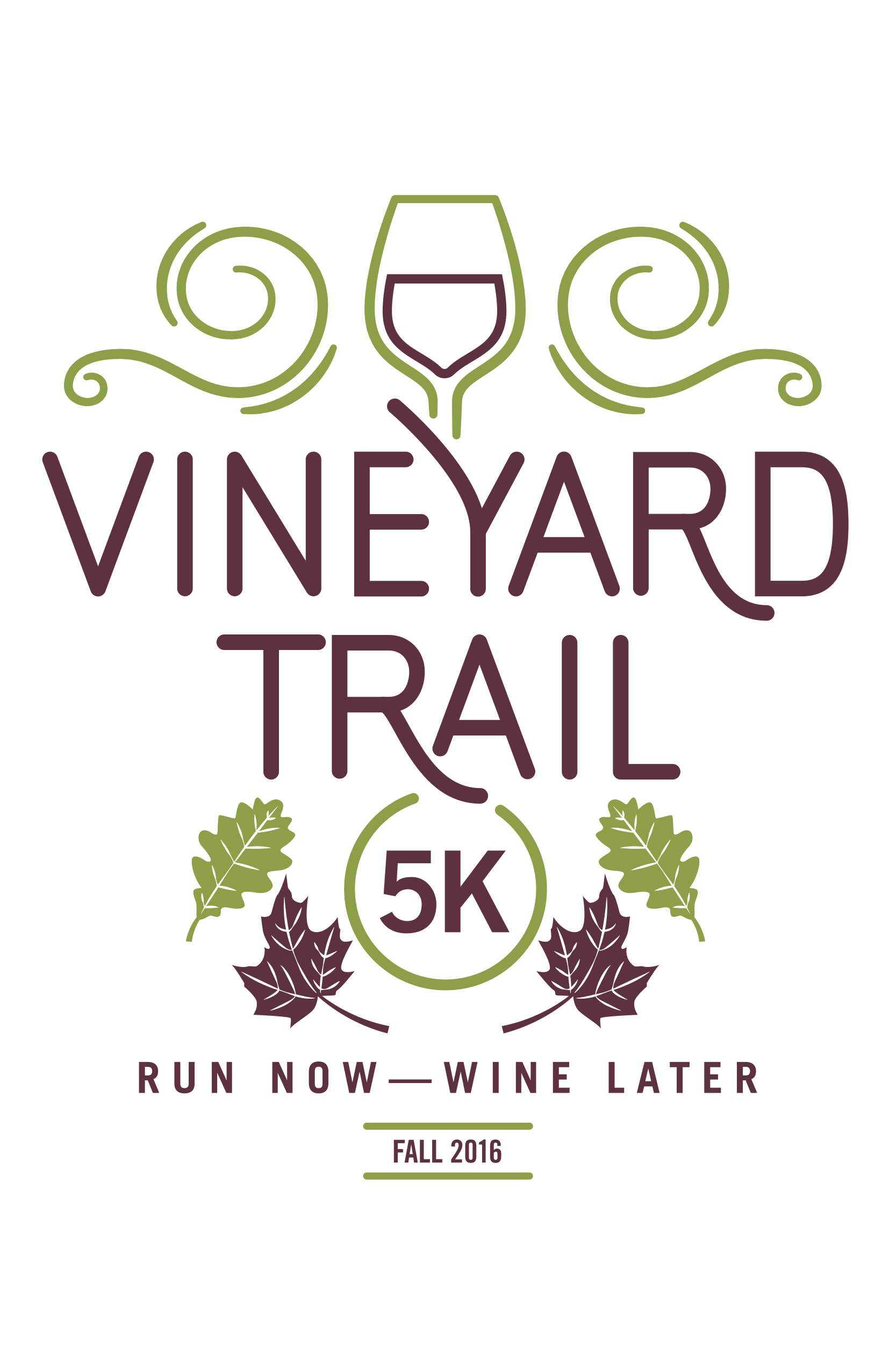 Vineyard Trail 5K Logo